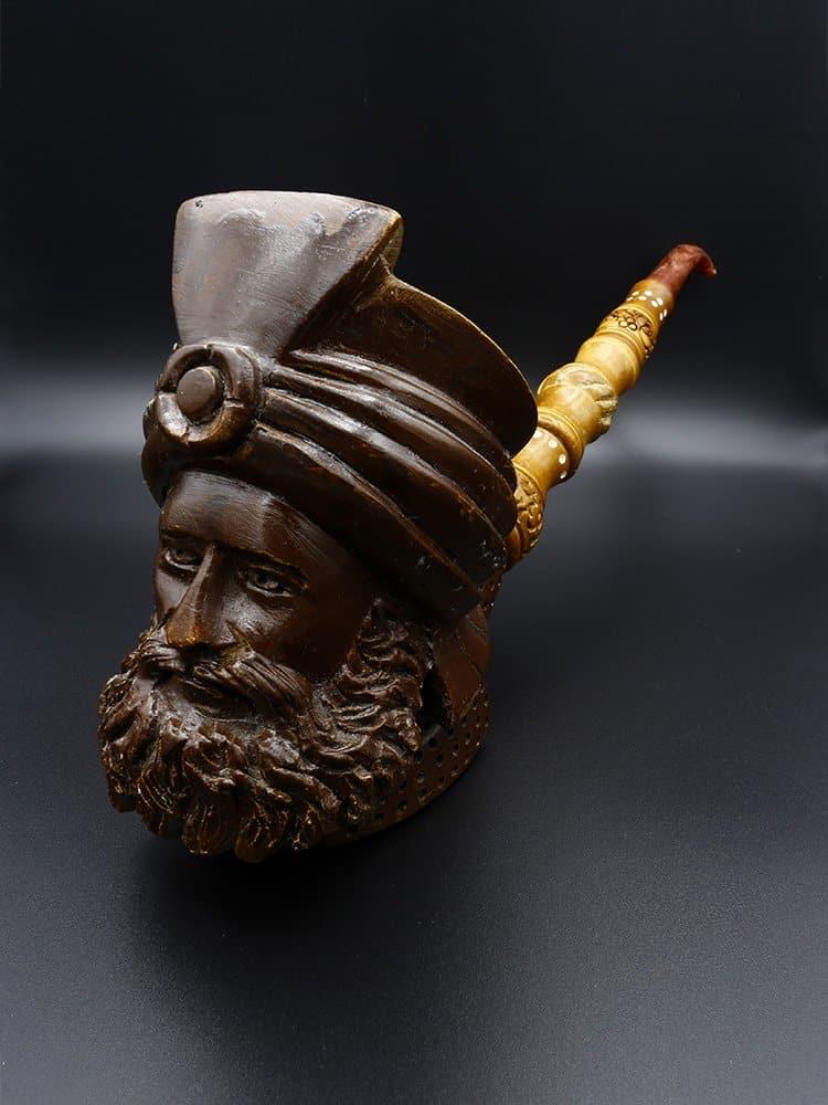 meerschaum pipe ottoman pasha new 1 - Meerschaum Pipe Ottoman Pasha