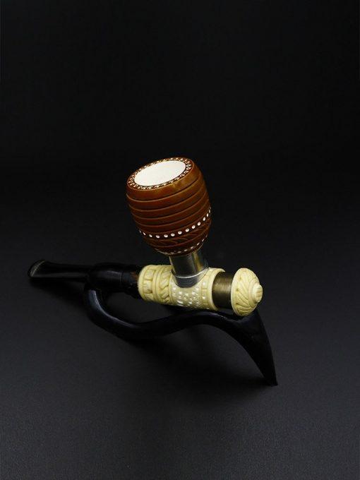 meerschaum pipe poker standard hand carved new 1 510x680 - Meerschaum Pipe Poker Standard Hand Carved