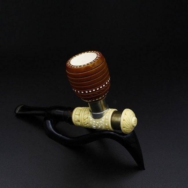 meerschaum pipe poker standard hand carved new 1 650x650 - Meerschaum Pipe Poker Standard Hand Carved