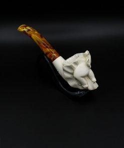meerschaum pipe small elephant hand carved 2 new 1 247x296 - Meerschaum Pipe Small Elephant Hand Carved