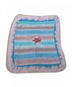 nuno-felted-placemat-red-point-needle felting-wet felting-felting wool