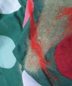 nuno felted scarf green leaves 247x296 - Nuno Felted Scarf Green Leaves