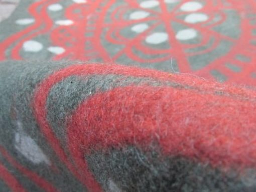 wet-felted-rug-red-cage