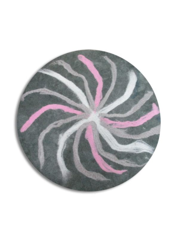 wet-felted-rug-wheel-of-fortune-handmade decorating-turkeyfamousfor-felted rugs-felting projects
