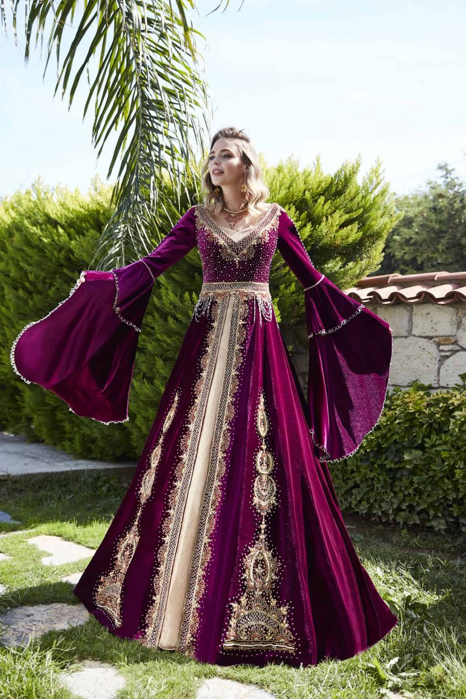 buy long sleeve evening gowns