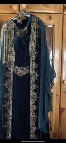 Dark Green Royal Kaftan Set photo review