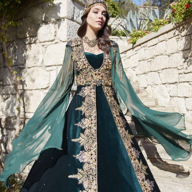 order long kaftan abaya dress online