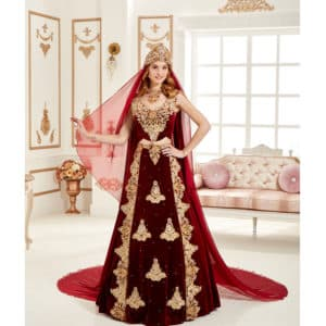 Decollete Caftan Set