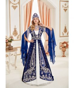 Fancy Blue Caftan Set