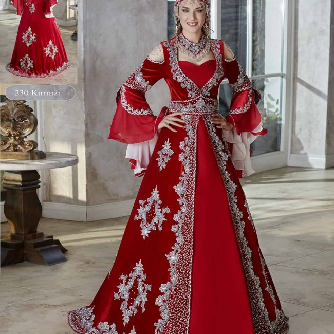 Engagement red velvet flounce long sleeve cheap formal Dress