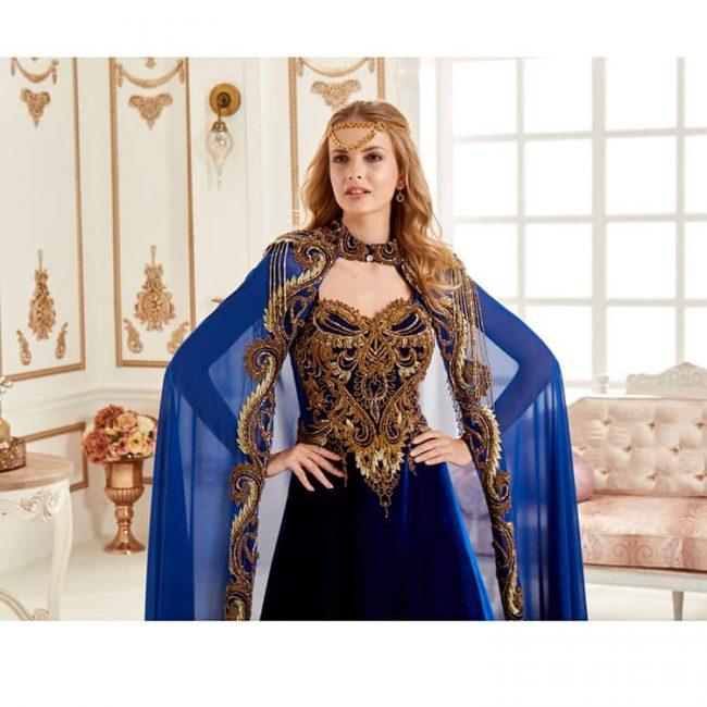 Snow Princess Kaftan Set 1 650x650 - Snow Princess Kaftan Set