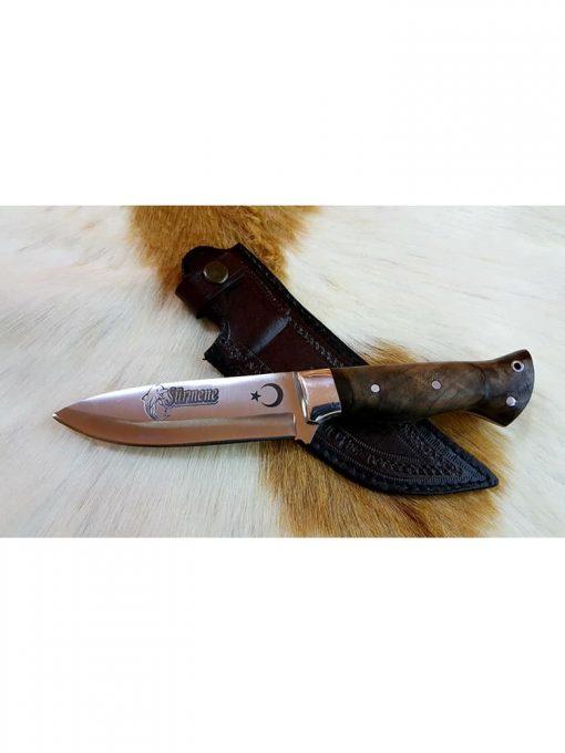 Surmene Hunting Knife Walnut Handle