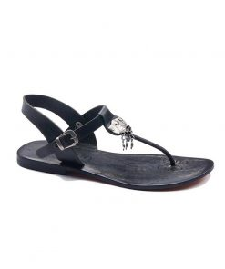 bodrum sandals evaterm sag 236 1913 247x296 - Toe Thong Black Sandals
