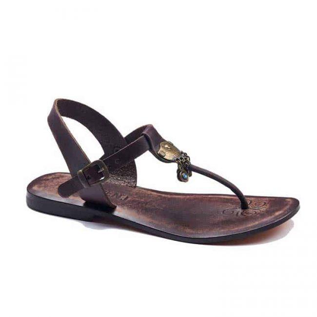 bodrum sandals evaterm sag 236 1917 650x650 - Toe Thong Dark Brown Women Sandals