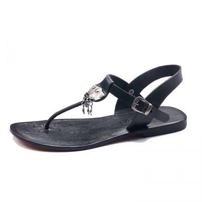 Leather Sandals For Womens