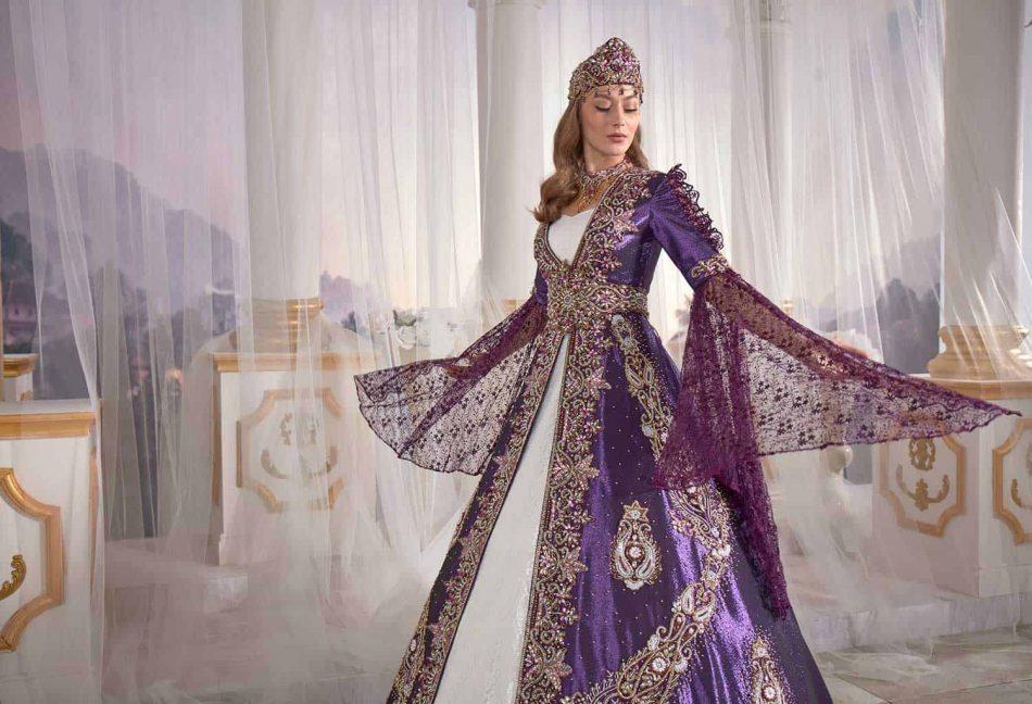 buy online famous purple caftan set turkish hijab store 4 950x648 - Famous Purple Kaftan Set