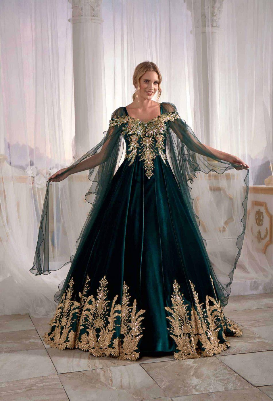 Turkish Caftan Dress Hurrem Sultan