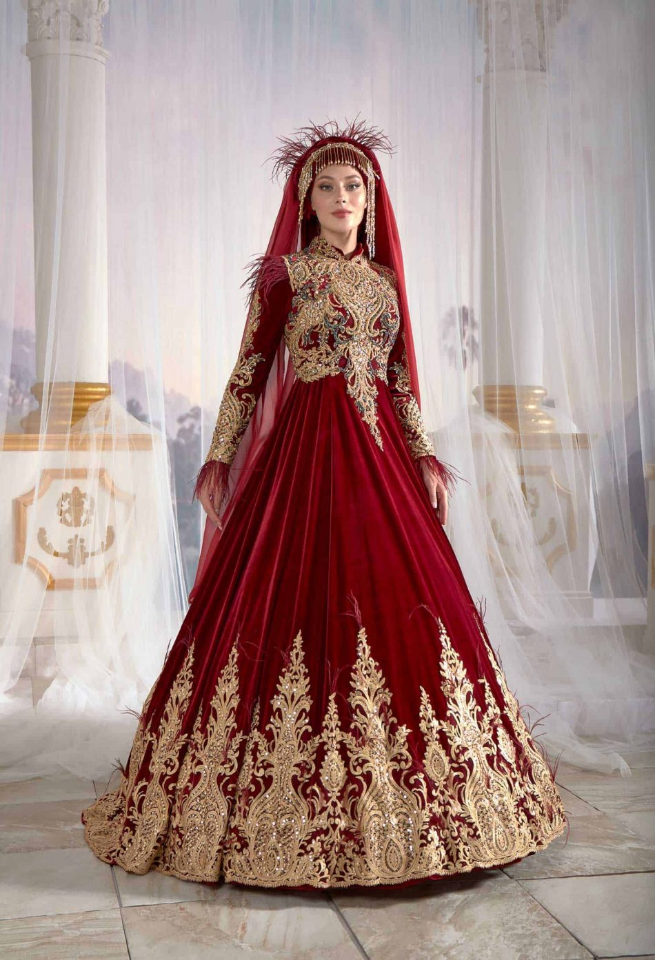 traditional turkish wedding dress