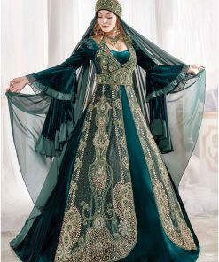 majestic caftan ottoman dress set 1 247x296 - Majestic Caftan Set