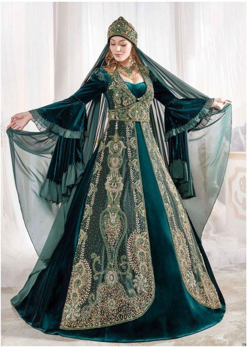majestic caftan ottoman dress set 1 510x715 - Majestic Caftan Set