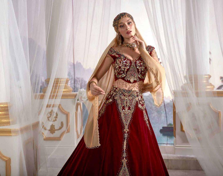 Authentic Turkish Kaftan Gown