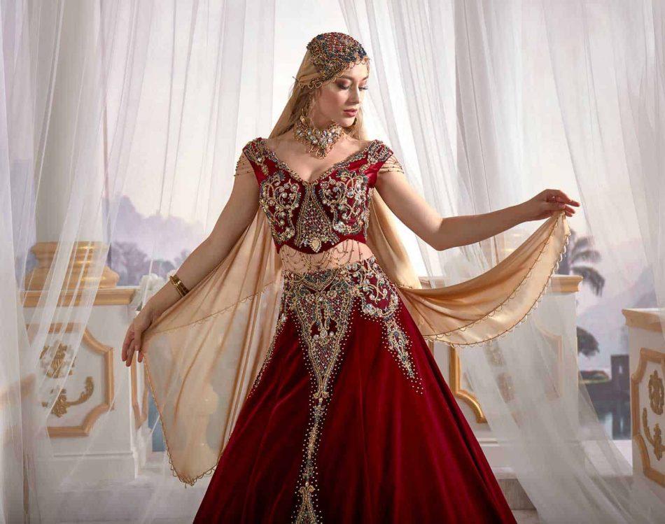 Halime Sultan Kaftan Dress