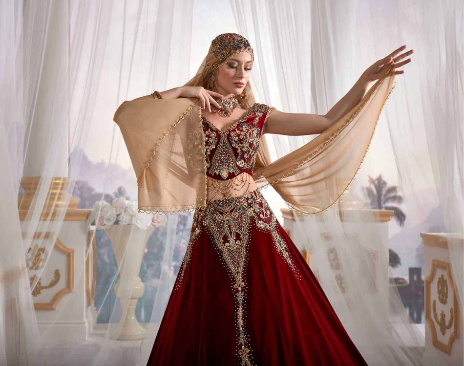 Dress of the sultan Kaftan