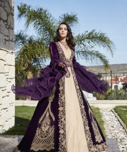 luxury designer formal evening prom party caftan dresses