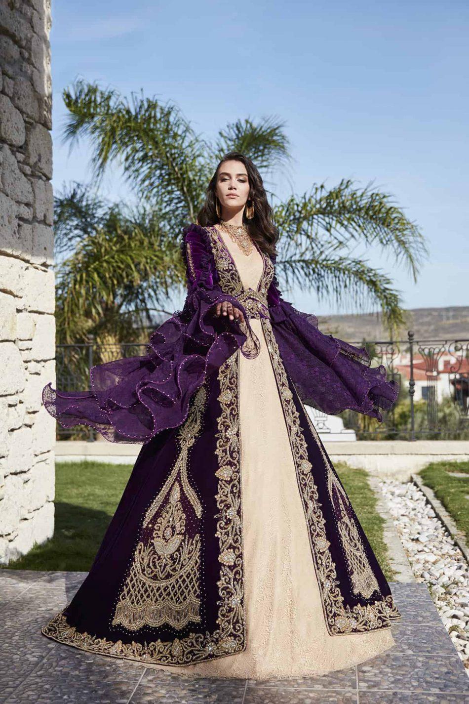 luxury designer formal evening prom party caftan dresses