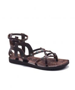 ankle handmade leather sandals 2 247x296 - Ankle Handmade Leather Sandals