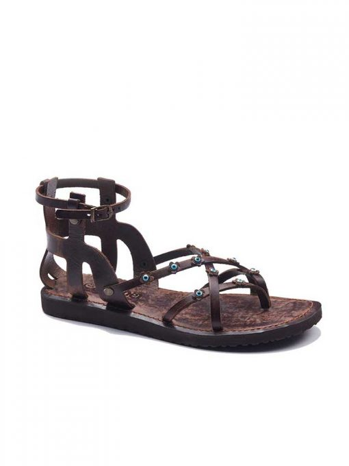 ankle handmade leather sandals 2 510x680 - Ankle Handmade Leather Sandals