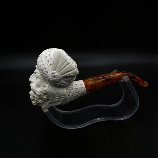 artisan meerschaum tobacco pipe 1 650x650 - Artisan Meerschaum Tobacco Pipe