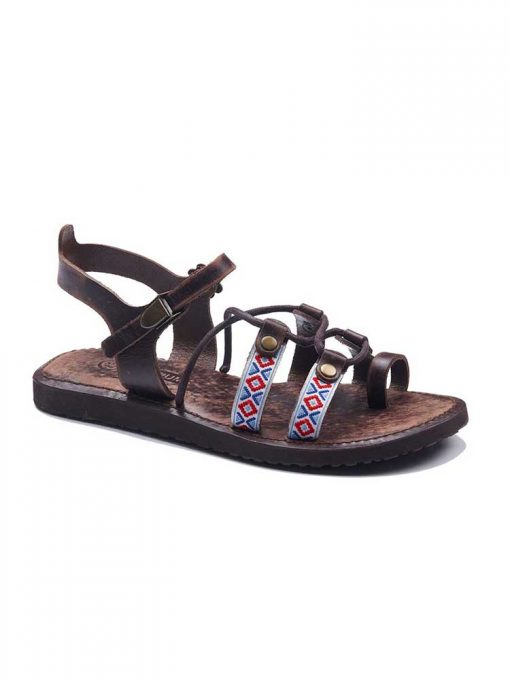 authentic leather sandals 1 510x680 - Authentic Womens Leather Sandals