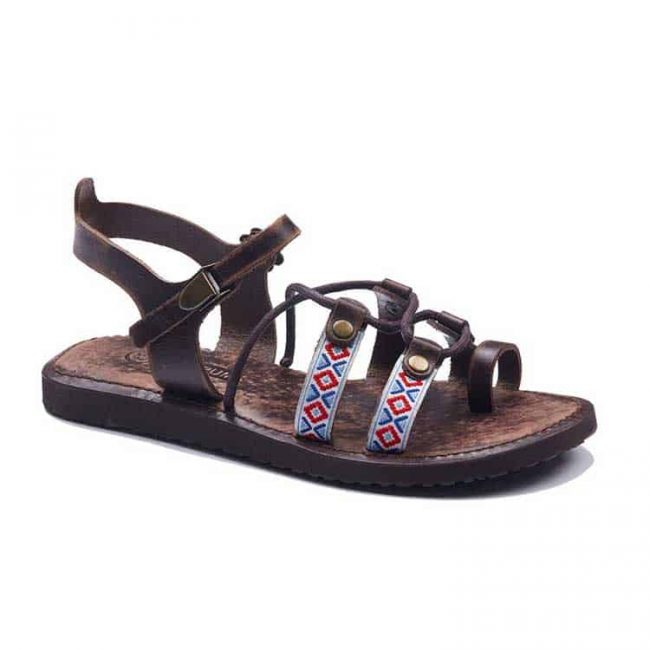 authentic leather sandals 1 650x650 - Authentic Womens Leather Sandals