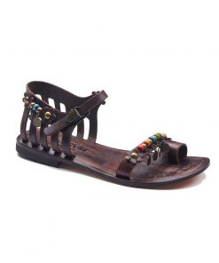 beach sandals 1 247x296 - Chic Leather Sandals For Women