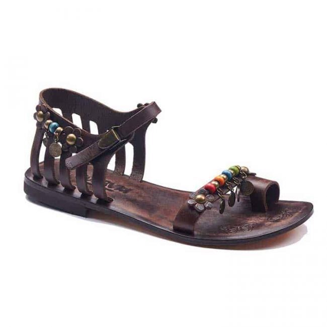 beach sandals 1 650x650 - Chic Leather Sandals For Women