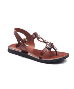 beaded handmade leather sandals 1 247x296 - Beaded Handmade Leather Sandals