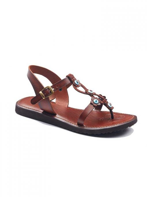 beaded handmade leather sandals 1 510x680 - Beaded Womens Leather Sandals