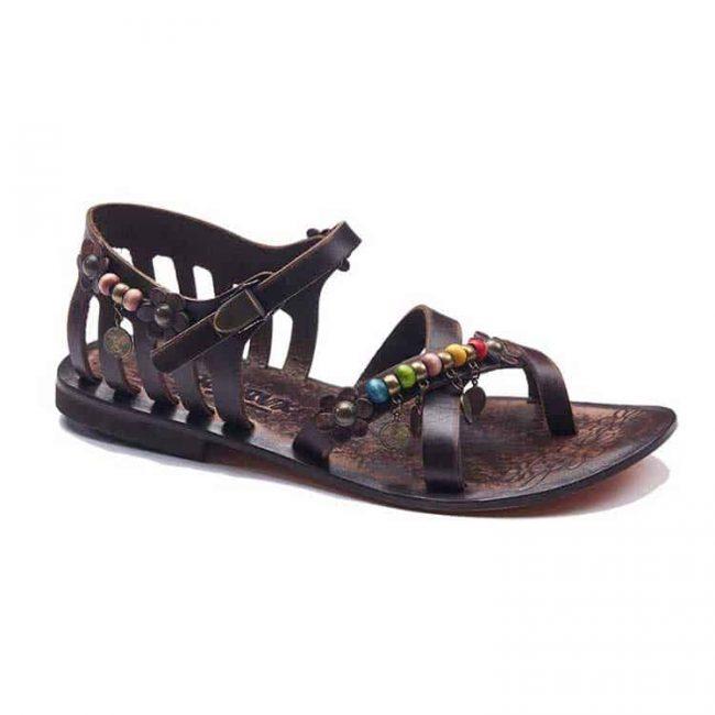 beaded leather sandals 2 650x650 - Beaded Leather Sandals For Women
