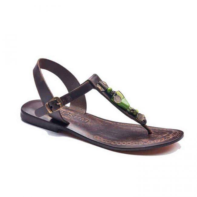 beads handmade leather sandals 2 650x650 - Beads Handmade Leather Sandals