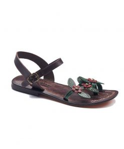 christmas handmade leather sandals 1 247x296 - Christmas Handmade Leather Sandals
