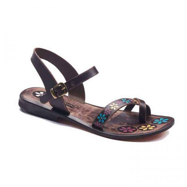 colorful handmade leather sandals 1 650x650 - Colorful Leather Sandals For Women
