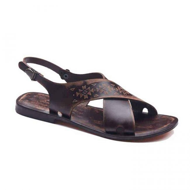 embossed handmade sandals 1 650x650 - Embossed Handmade Sandals