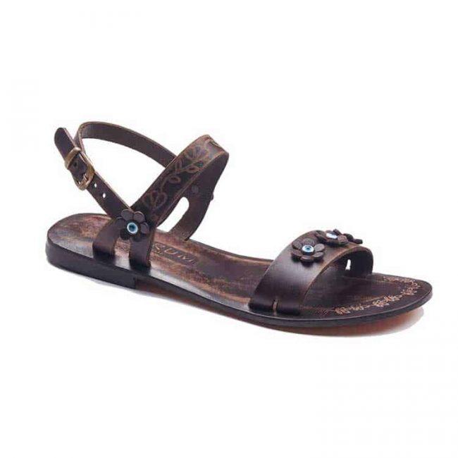 evil eyes handmade leather sandals 2 650x650 - Evil Eyes Leather Sandals For Women