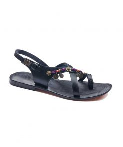 fashionable leather sandals 2 247x296 - Fashionable Leather Sandals