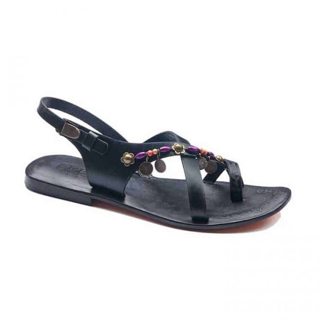 fashionable leather sandals 2 650x650 - Fashionable Leather Women Sandals