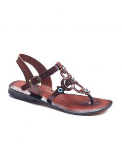 flowers handmade leather sandals 1 247x296 - Flowers Handmade Leather Sandals