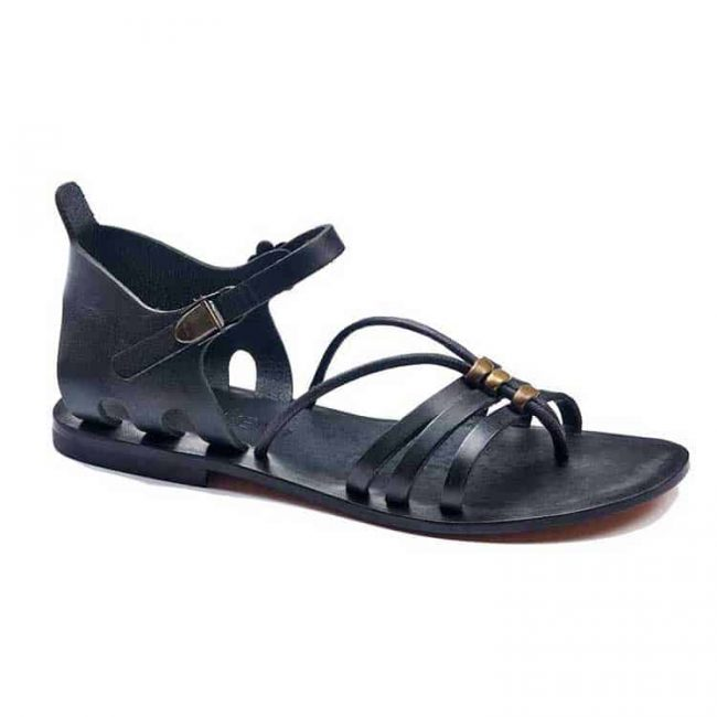 glam handmade leather shoes 2 650x650 - Glam Leather Women Sandals
