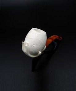 lady hand meerschaum pipe 2 247x296 - Lady Hand Meerschaum Pipe