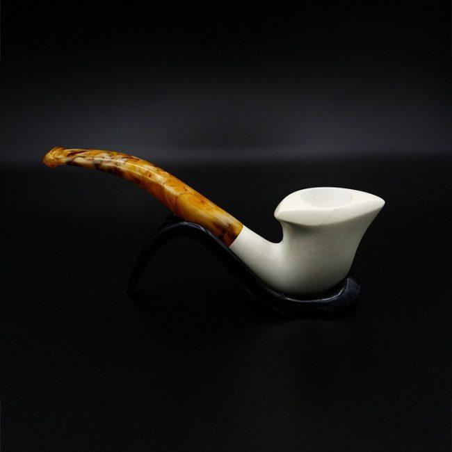 meerschaum calabash pipe 1 650x650 - Meerschaum Calabash Pipe